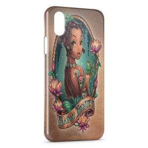 Coque iPhone X & XS La Princesse et la Grenouille Punk