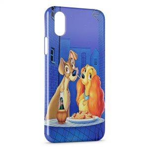 Coque iPhone X & XS La belle et le Clochard
