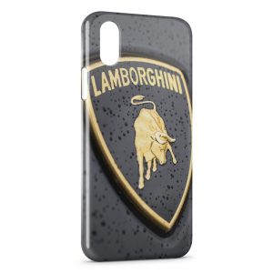 Coque iPhone X & XS Lamborghini 3