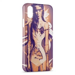 Coque iPhone X & XS Lana Del Ray 2
