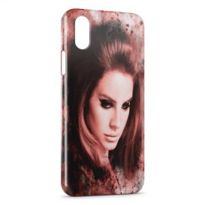 Coque iPhone X & XS Lana Del Ray
