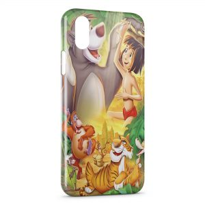 Coque iPhone X & XS Le livre de la Jungle