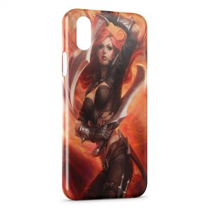Coque iPhone X & XS Leafue Of Legends Janna 1