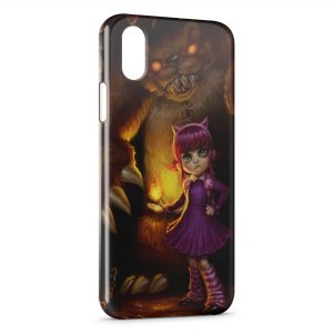 Coque iPhone X & XS League Of Legends Annie 1
