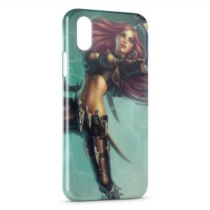 Coque iPhone X & XS League Of Legends Katarina 2