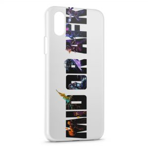 Coque iPhone X & XS League Of Legends Mid Or Afk