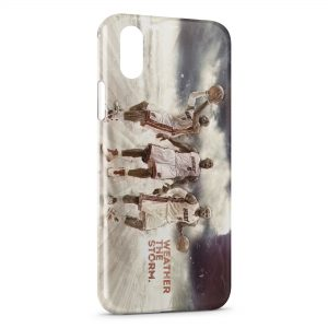 Coque iPhone X & XS Lebron James Miami Heat Basketball