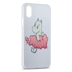 Coque iPhone X & XS Les Moomins