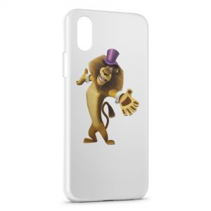 Coque iPhone X & XS Lion Madagascar