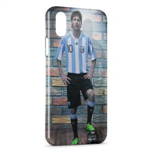 Coque iPhone X & XS Lionel Messi 2