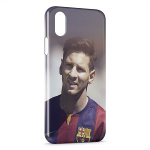 Coque iPhone X & XS Lionel Messi Football 6
