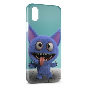 Coque iPhone X & XS Little Cute Monster