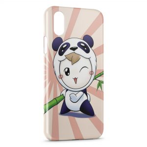 Coque iPhone X & XS Little Panda