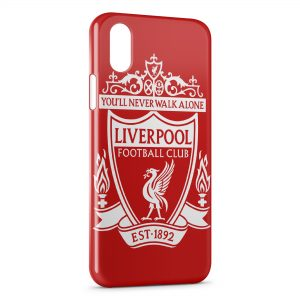 Coque iPhone X & XS Liverpool FC Football 2
