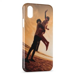 Coque iPhone X & XS Love under the Sun