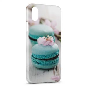 Coque iPhone X & XS Macarons