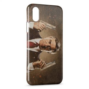 Coque iPhone X & XS Machete De Niro