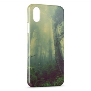 Coque iPhone X & XS Magic Forest