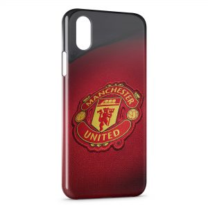 Coque iPhone X & XS Manchester United Football 3