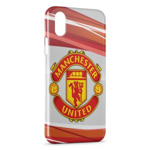 Coque iPhone X & XS Manchester United Football UK 2