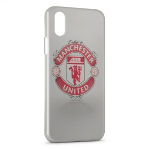 Coque iPhone X & XS Manchester United Football UK 5