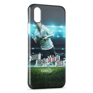 Coque iPhone X & XS Manchester United Rafael Da Silva