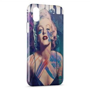 Coque iPhone X & XS Marilyn 4