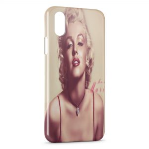 Coque iPhone X & XS Marilyn 6