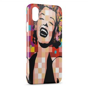 Coque iPhone X & XS Marilyn PopArt