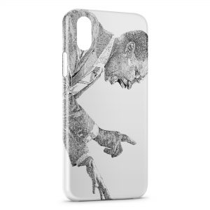 Coque iPhone X & XS Martin Luther King