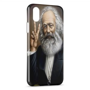 Coque iPhone X & XS Marx Peace
