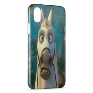 Coque iPhone X & XS Maximus Raiponce Cheval 3