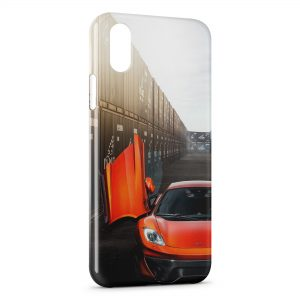 Coque iPhone X & XS McLaren MP4-vx Vorsteiner Voiture