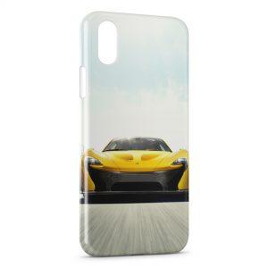 Coque iPhone X & XS McLaren classic Voiture