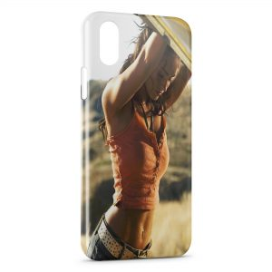 Coque iPhone X & XS Megan Fox 4