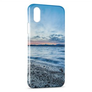 Coque iPhone X & XS Mer & Plage