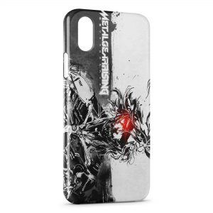 Coque iPhone X & XS Metal Gear Rising Revengeance 3