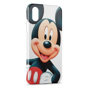 Coque iPhone X & XS Mickey Rouge