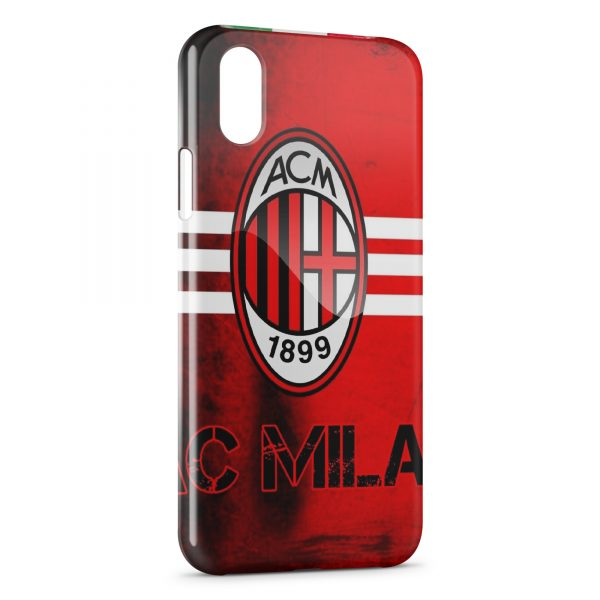 Coque iPhone X & XS Milan AC Football 2