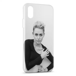 Coque iPhone X & XS Miley Cyrus 4
