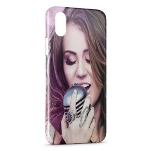 Coque iPhone X & XS Miley Cyrus 6