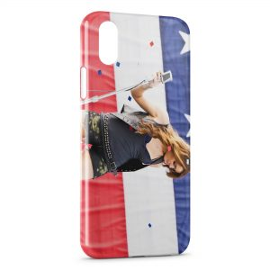 Coque iPhone X & XS Miley Cyrus Party In The Usa