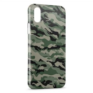 Coque iPhone X & XS Militaire