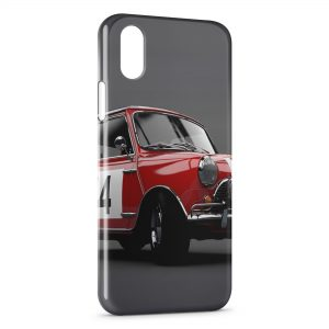 Coque iPhone X & XS Mini Cooper Rouge