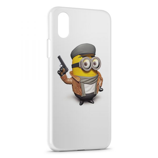 coque iphone xs minion