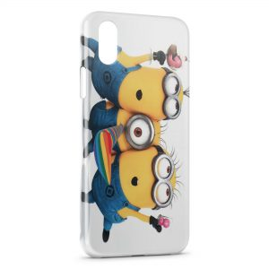 Coque iPhone X & XS Minion 12