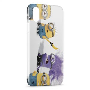 Coque iPhone X & XS Minion 13