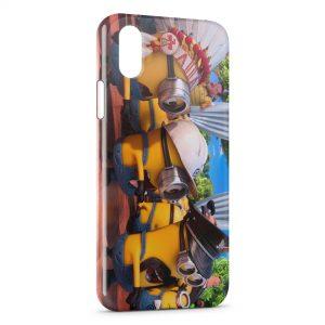Coque iPhone X & XS Minion 23