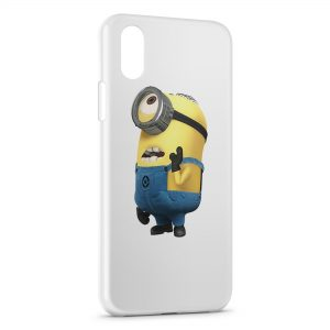 Coque iPhone X & XS Minion 6