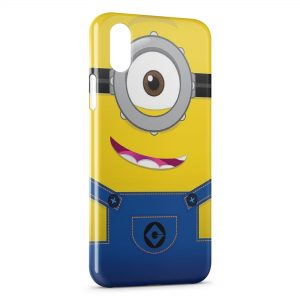 Coque iPhone X & XS Minion Art